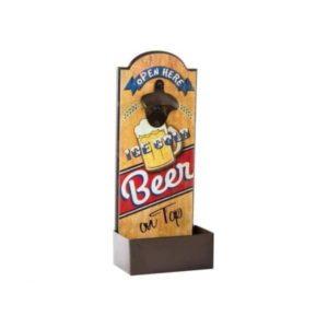 decapsuleur mural biere